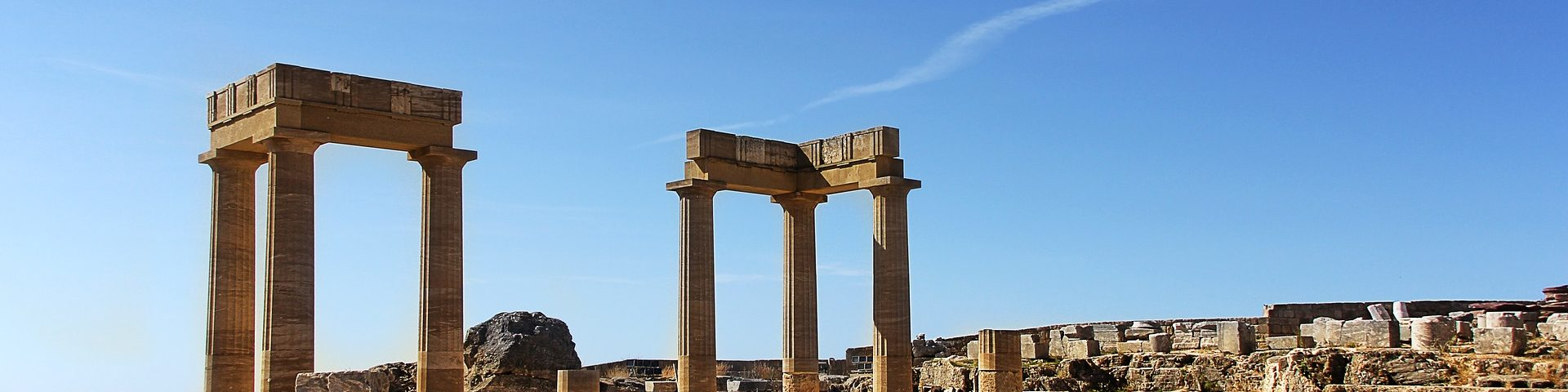 Griechenland, Rhodos, Akropolis